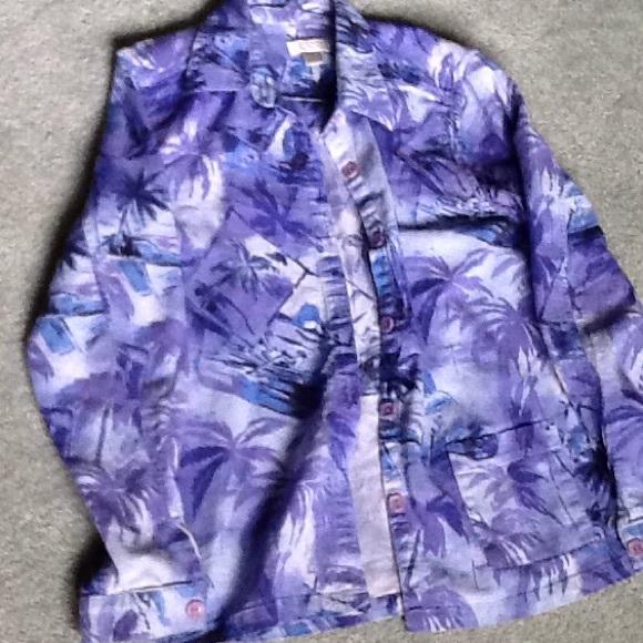 Christopher & Banks Jackets & Blazers - Women's shirt jacket